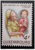 Poštovní známka Lucembursko 1973 Sestra s dítětem Mi# 865