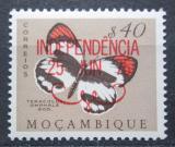 Poštovní známka Mosambik 1975 Teracolus omphale přetisk Mi# 576
