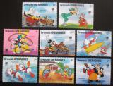 Poštovní známky Grenada Gren. 1998 Disney, LOH Soul Mi# 944-51 Kat 15€