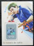 Poštovní známka Guinea 2014 Stolní tenis Mi# Block 2471 Kat 16€
