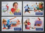 Poštovní známky Guinea 2015 Stolní tenis Mi# 11278-81 Kat 16€