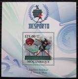 Poštovní známka Mosambik 2010 Stolní tenis, Guo Jue Mi# Block 323 Kat 10€