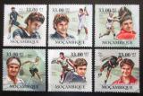 Poštovní známky Mosambik 2010 Tenisti Mi# 3842-47 Kat 10€