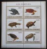 Poštovní známky Komory 2009 Želvy Mi# 2177-82 Kat 14€