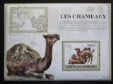Poštovní známka Komory 2009 Velbloudi Mi# Block 476 Kat 15€