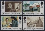Poštovní známky Guernsey, Velká Británie 1990 Evropa CEPT, pošta Mi# 483-86