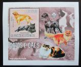 Poštovní známka Svatý Tomáš 2006 Psi a kočky DELUXE Mi# 2799 Block