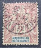 Poštovní známka Madagaskar 1896 Koloniální alegorie Mi# 29