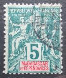 Poštovní známka Madagaskar 1896 Koloniální alegorie Mi# 31