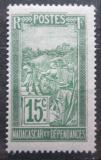 Poštovní známka Madagaskar 1927 Přeprava na nosítkách Mi# 152