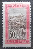 Poštovní známka Madagaskar 1922 Přeprava na nosítkách Mi# 155