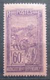Poštovní známka Madagaskar 1925 Přeprava na nosítkách Mi# 162