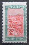 Poštovní známka Madagaskar 1926 Přeprava na nosítkách Mi# 164