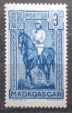 Poštovní známka Madagaskar 1940 Generál Gallieni Mi# 229