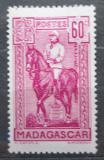 Poštovní známka Madagaskar 1940 Generál Gallieni Mi# 230