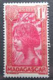 Poštovní známka Madagaskar 1938 Domorodec Mi# 195