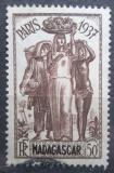 Poštovní známka Madagaskar 1937 Mezinárodní výstava v Paříži Mi# 243