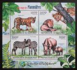 Poštovní známky Burundi 2012 Savci Mi# 2625-28 Kat 9.50€
