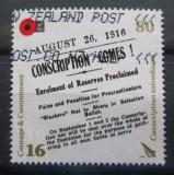 Poštovní známka Nový Zéland 2016 První světová válka Mi# Mi# 3324