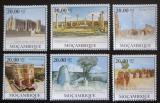 Poštovní známky Mosambik 2010 Architektonické poklady v Africe Mi# Mi# 3866-71