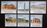 Poštovní známky Mosambik 2010 Architektura v Africe Mi# Mi# 3902-07 Kat 10€