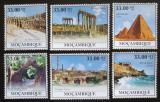 Poštovní známky Mosambik 2010 Architektura v Africe Mi# Mi# 3920-25 Kat 10€