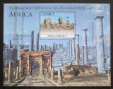 Poštovní známka Mosambik 2010 Architektura v Africe Mi# Mi# Block 355 Kat 10€