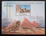 Poštovní známka Mosambik 2010 Architektura v Africe Mi# Mi# Block 352 Kat 10€