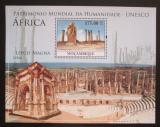 Poštovní známka Mosambik 2010 Architektura v Africe Mi# Mi# Block 346 Kat 10€