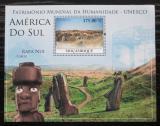 Poštovní známka Mosambik 2010 Architektura v Jižní Americe Mi# Mi# Block 347 Kat 10€