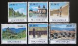Poštovní známky Mosambik 2010 Architektura v Jižní Americe Mi# Mi# 3872-77