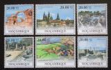 Poštovní známky Mosambik 2010 Architektura v Evropě Mi# Mi# 3878-83
