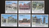 Poštovní známky Mosambik 2010 Architektura v Evropě Mi# Mi# 3932-37 Kat 10€