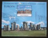 Poštovní známka Mosambik 2010 Architektura v Evropě Mi# Mi# Block 348 Kat 10€