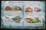 Poštovní známky Mosambik 2012 Vyhynulá fauna Oceánie Mi# Mi# 5701-08 Kat 16€