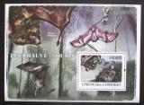 Poštovní známka Komory 2009 Netopýři, WWF Mi# Mi# Block 488 Kat 15€