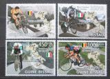 Poštovní známky Guinea-Bissau 2009 Cyklistika Mi# 4086-89 Kat 11€