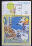 Poštovní známka Somálsko 1999 Fauna Mi# Block 58 Kat 10€