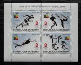 Poštovní známky Benin 2008 LOH Peking Mi# 1463-66 Bogen Kat 10€