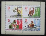 Poštovní známky Svatý Tomáš 2008 LOH Peking Mi# 3412-15 Bogen Kat 12€