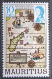 Poštovní známka Mauricius 1978 Portugalská mapa Mi# Mi# 436 I X A