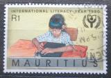 Poštovní známka Mauricius 1990 Mezinárodní rok vzdělání Mi# Mi# 711