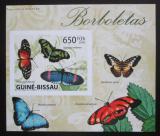 Poštovní známka Guinea-Bissau 2009 Motýli neperf. DELUXE Mi# Mi# 4505 B Block