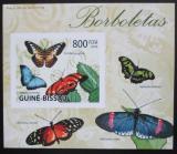 Poštovní známka Guinea-Bissau 2009 Motýli neperf. DELUXE Mi# Mi# 4506 B Block