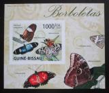 Poštovní známka Guinea-Bissau 2009 Motýli neperf. DELUXE Mi# Mi# 4507 B Block