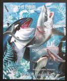 Poštovní známka Burundi 2012 Velké ryby Mi# Mi# Block 243 Kat 9€