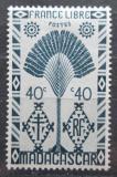 Poštovní známka Madagaskar 1943 Strom cestovatelů Mi# Mi# 354
