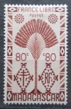 Poštovní známka Madagaskar 1943 Strom cestovatelů Mi# Mi# 355