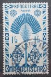 Poštovní známka Madagaskar 1943 Strom cestovatelů Mi# Mi# 356