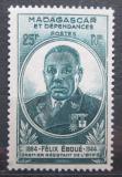 Poštovní známka Madagaskar 1945 Félix Éboué Mi# Mi# 386
